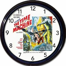 """The Time Machine H G Wells Rod Taylor Classic Movie Poster Wall Clock New 10"""""""