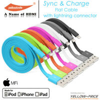 Apple MFI Certified Lightning Sync Data Charger Cable For iPhone 5 -6 iPod iPad