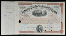 Northern Pacific Rr Stock Issued To and Signed On Verso By Richard B. Mellon
