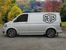 Huge Deus Ex Machina Van Vinyl Sticker Decal x 2