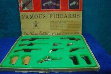 1960 Vintage Marx Toys Famous Firearms Deluxe Edition Miniature Weapons Pistols