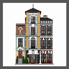 LEGO Custom Modular HOTEL - INSTRUCTIONS ONLY!