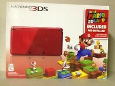 Nintendo 3DS Super Mario 3D Land Flame Red (NTSC)  BRAND NEW!!!  Sealed!