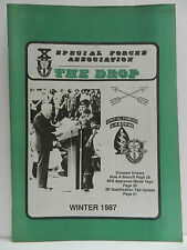 """""""GREEN BERET"""" THE DROP MAGAZINE, WINTER 1987 ISSUE, SPECIAL FORCES ASSOCIATION"""
