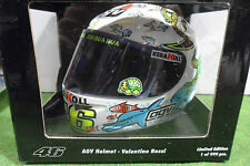 AGV HELMET CASQUE PILOTE MOTO GP VALENCIA 2005 ROSSI au 1/2 MINICHAMPS 327050086