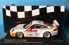 PORSCHE 911 GT3 RSR #23 12H SEBRING 2004 BERNHARD 1/43 BERGMEISTER MAASSEN 12 H