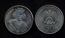 POLAND 50 Zlotych 1981 King Boleslaw II  UNC