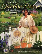 Garden Decor Painted One Stroke Book by Donna Dewberry NEW