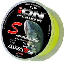 AWA`S (AWA-SHIMA) ION POWER S-MISSILE FLUO 600mt. 0.18 fishing line monofilament