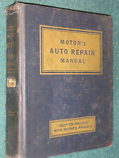 1935-1952 CHEVY FORD OLDS CADILLAC & MORE SHOP MANUAL / MOTORS REPAIR BOOK 51 50