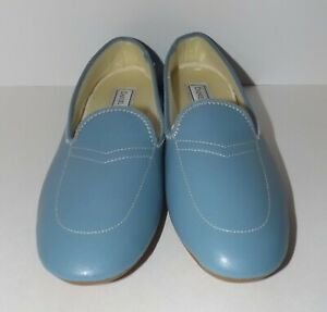 Daniel Green Meg Slippers Womens Blue Size 6
