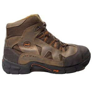 Timberland Pro Expertise Steel Toe Work Boot 50500 Mens Size 11 Wide Brown Shoe