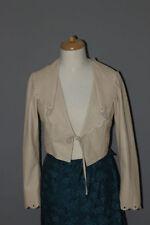 Taillenlange Damenjacken & -mäntel aus Leder für L
