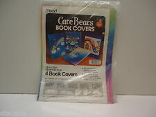 Vintage Care Bear Mead Book Covers  Set of Four Still in Package