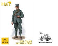 HAT INDUSTRIE WWI ITALIAN ARTILLERY CREW 1:72 Scale Model Kit - 8259