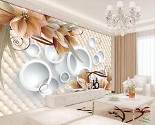 3D Wallpaper Bedroom Mural Roll Modern Luxury dream flowers Background wall BJ80