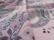 Italian Chiffon Silk 100%, 'Ammurianum' (per metre) dress fabric, scarves,