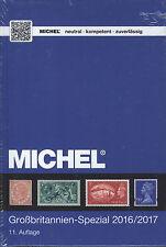 Michel Gran Bretagna-SPECIALE-catalogo 2016/2017 esemplare danni!!!