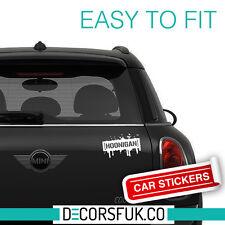 Hoonigan Car Sticker, Car Bumper, Window, 21 cm width size - Car stickers