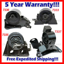 L948 Fits 2005-2006 Nissan X-Trail 2.5L 4WD, Engine Motor & Trans Mount Set 4pcs