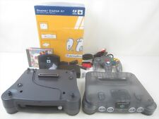 Nintendo 64 DD System RANDNET STARTER KIT 64 Clear Black Console FREE SHIP 2169
