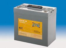 12V 55Ah CTM GEL-Batterie
