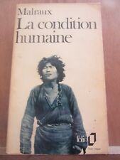 Malraux: La condition humaine/ Folio, 1975