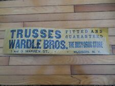 1940 Chandler Drug Store Button Sign Old St Louis Stock