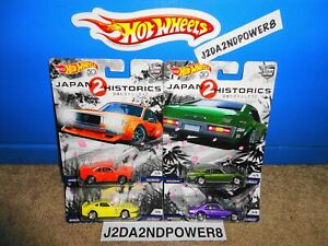 HOT WHEELS CAR CULTURE JAPAN HISTORICS 2 SET OF 4 NISSAN FAIRLADY Z_READ