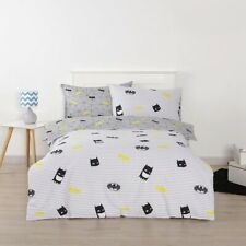 DC Comics Batman Single Bed Quilt Cover Set