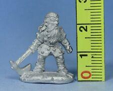 Miniatures Workshop - Duergar with Axe - Fantasy Dwarf - Pre Slotta