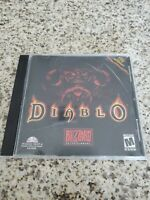 Diablo Video Game for PC Windows 95/NT& Power MAC CD-Rom Blizzard Multiplayer VG