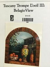 Kingslan & Gibilisco Packet Tuscany Trompe L'oeil III Belagio View OILS