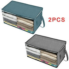 Storage Bags Clothes Blankets Container Box Non-woven fabrics Brand New