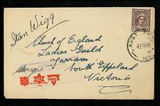 Postal History Australia Sc #151 Censor Military 1943 South Gippsland Victoria