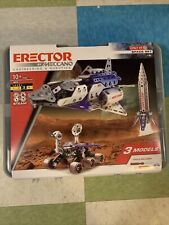 Erector by Meccano 18214 Space Set Space Shuttle Rocket Mars Rover Brand New