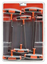 BAHCO 903T-1 Professional 6 Pce T-Handle Metric Hex Allen Key/Wrench Set, 3-10mm