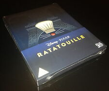 STEELBOOK BLU RAY 3D/2D RATATOUILLE ZAVVI EXCLUSIVE LIMITED TO 3000 COPIES/NEW