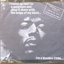 "JIMI HENDRIX- VOODOO CHILE WATCHTOWER ISRAELI 7"" EP RAREST 1968 1ST"
