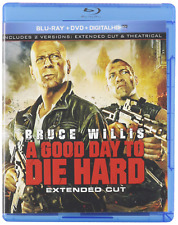 A Good Day to Die Hard (Blu-ray/Dvd, 2013, 2-Disc Set, Extended Cut) (dv2627)