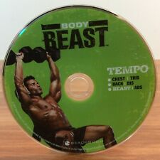 Beachbody Body Beast Tempo - Chest | Tris | Back | Bis | Beast | Abs | Mint