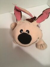 """Little Brother Mulan 8"""" Plush Doll Authentic Disney Store Patch Lil Dog"""