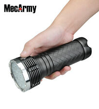 PT80 9600 Lumen CREE XP-G2 S4 LED Flashlight powered by  4 X 18650, MecArmy