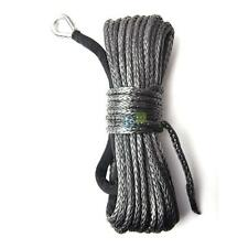 """1/4"""" x 50' 6500LBs Synthetic Winch Line Cable Rope w/ Sheath For Car SUV ATV UTV"""