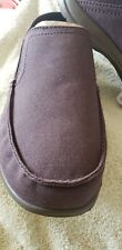 NWT! Crocs Santa Cruz Convertible Slip-On Mens Sz11 Espresso/Walnut 20483423B
