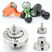 CNC Stainless Steel Rotary Tattoo Machine Adjustable Bearing Cam Wheel 1mm-5mm