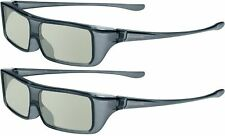 2 x Genuine Panasonic Viera Polarized (Passive) 3D Glasses Eyewear TY-EP3D20U