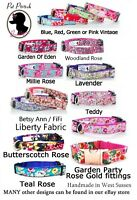 Floral Handmade Puppy Dog Collar OR Lead - Free P&P - All Sizes