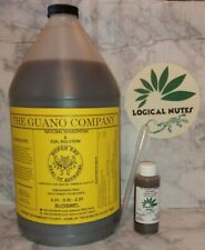 Liquid Guano, Budswel,fertilizer,soil,hydroponics, 2oz bottle, plant nutrients,