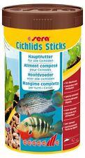 Sera Cichlids sticks 250ml Futtersticks für alle Cichliden und größere Fische